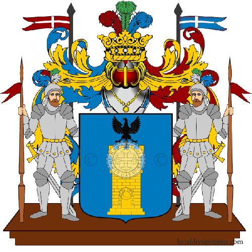 Coat of arms of family Cambareri