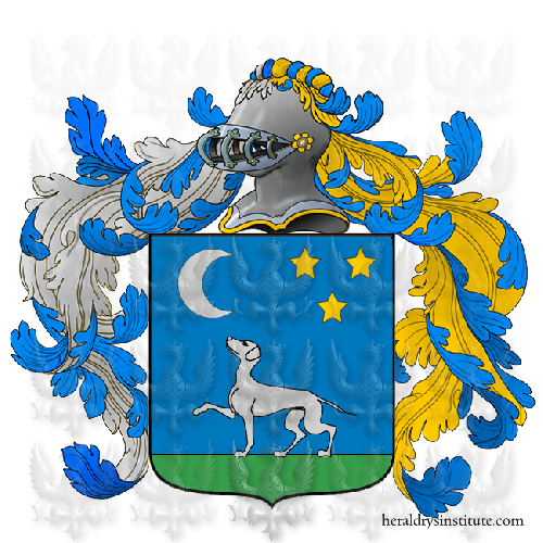 Coat of Arms of family Burin o Burini