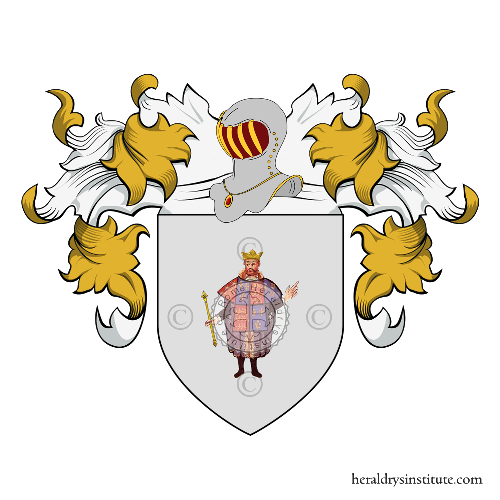 Coat of Arms of family dal Re