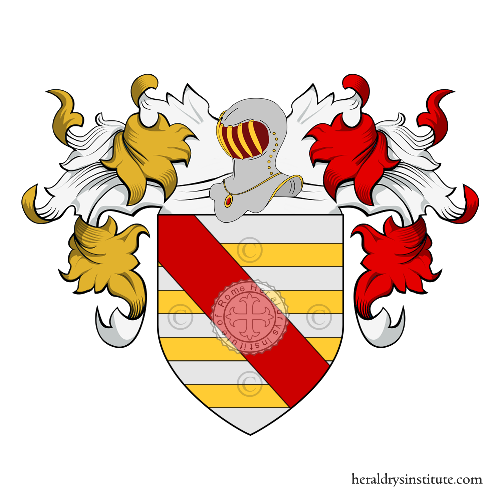 Coat of Arms of family Turi, Turo, De Turo