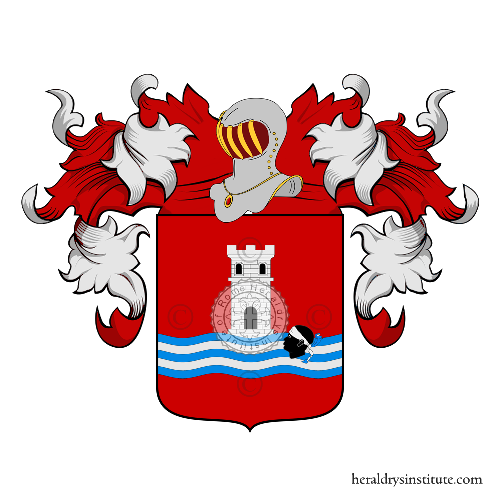 Coat of arms of family Nobre