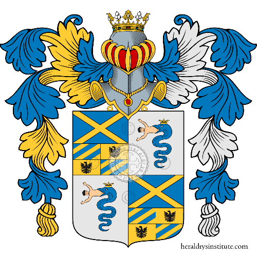 Coat of arms of family Billi