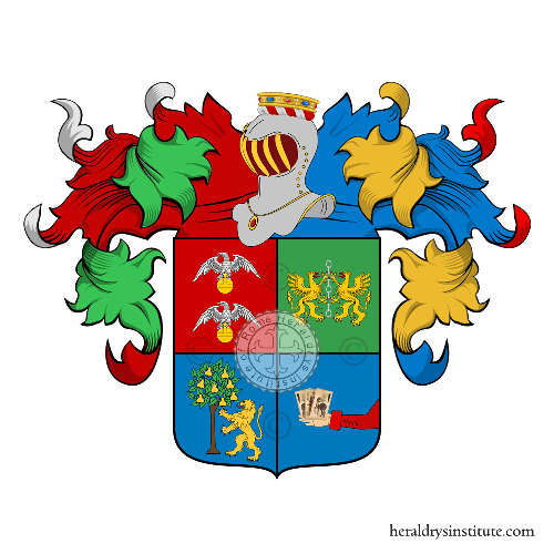 Coat of Arms of family Milia