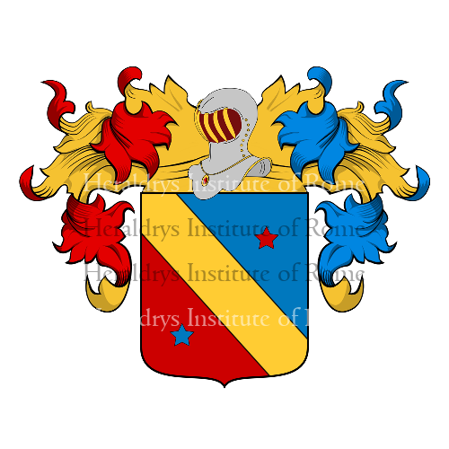 Coat of arms of family Campoverde