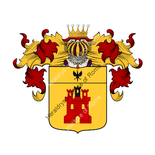 Coat of arms of family Cardani