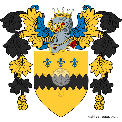 Coat of Arms of family Nigro