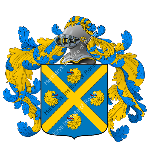 Coat of Arms of family Temelin