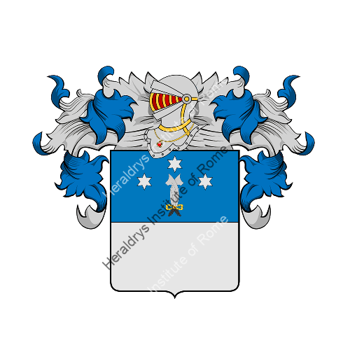 Coat of arms of family Caratti