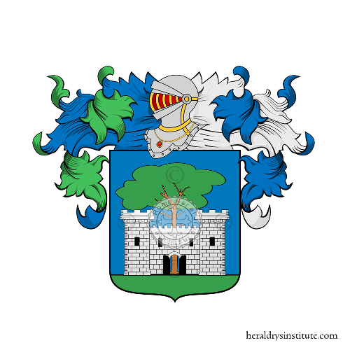 Coat of Arms of family Villa