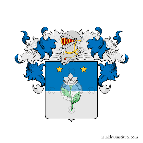 Coat of Arms of family d'Antoni