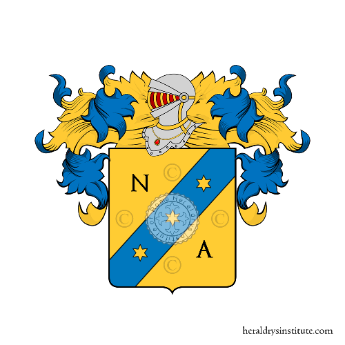 Coat of Arms of family dell'Antoni