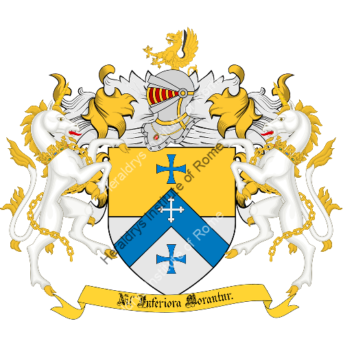 Coat of arms of family Cristini