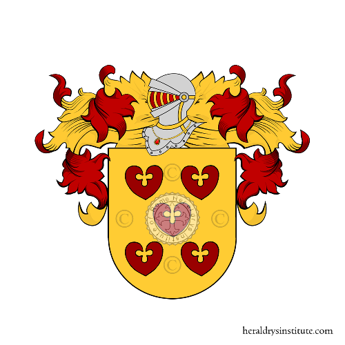 Coat of Arms of family Cillario
