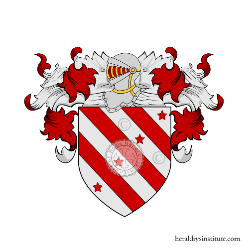 Coat of Arms of family Pennano