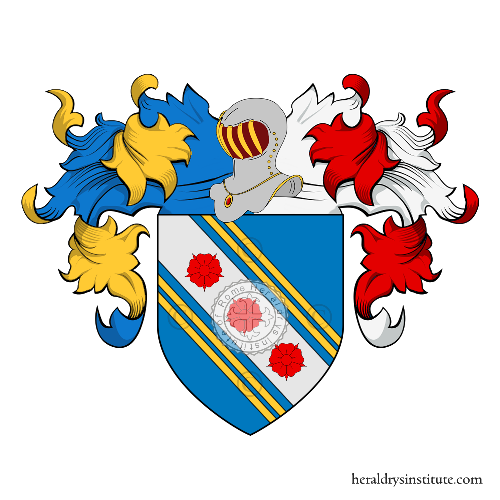 Coat of Arms of family Capocci, Capoccia