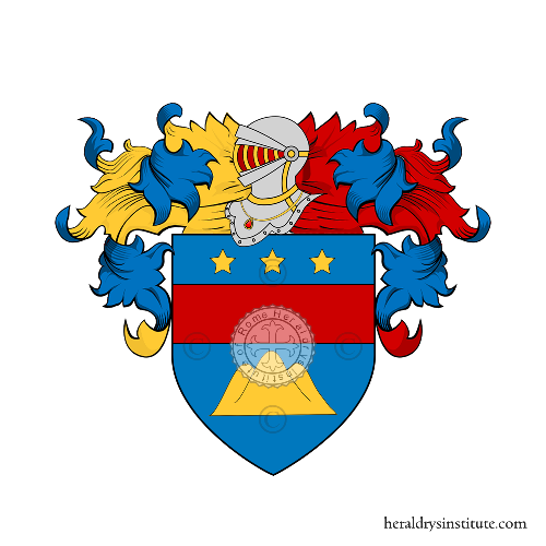 Coat of Arms of family Zanganelli