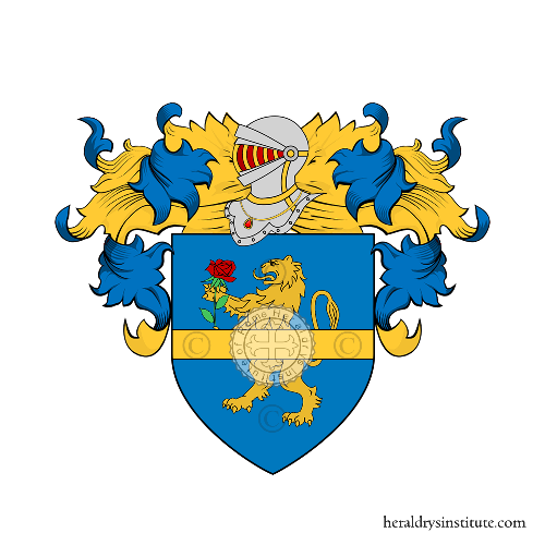 Coat of Arms of family Lanni