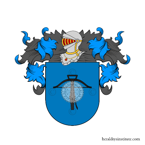 Coat of Arms of family Angeiras (Galicia)