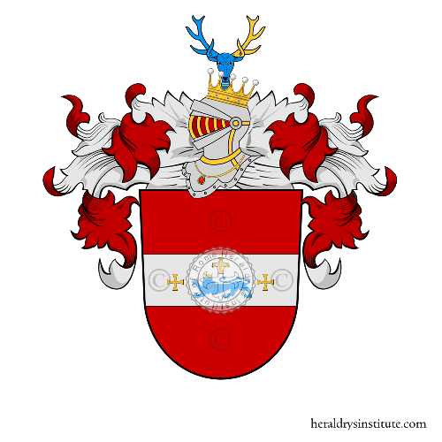 Coat of Arms of family Preiten (Prussia)