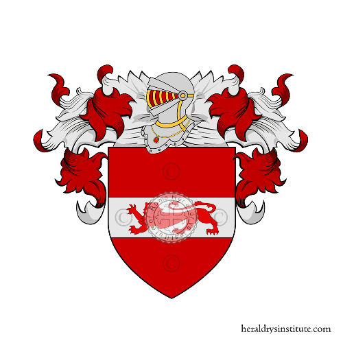 Coat of Arms of family Preite