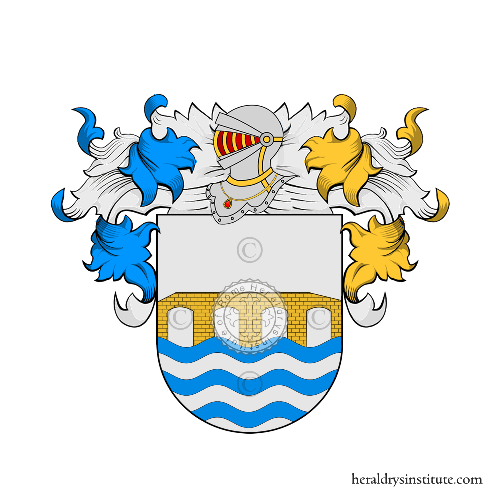 Coat of Arms of family Manto (Galizia)