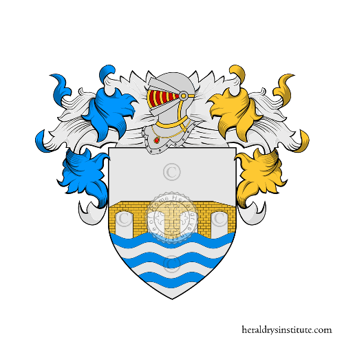 Coat of Arms of family Lo Manto o Manto