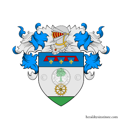 Coat of Arms of family Molinari