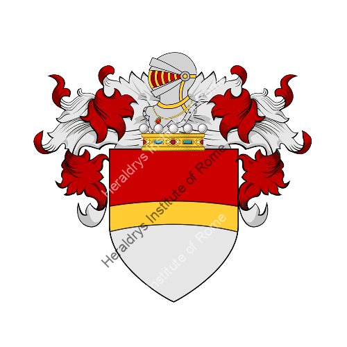 Coat of Arms of family Breccia