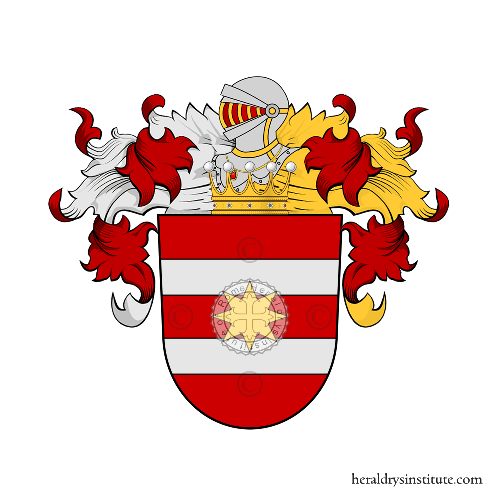 Coat of Arms of family Haß