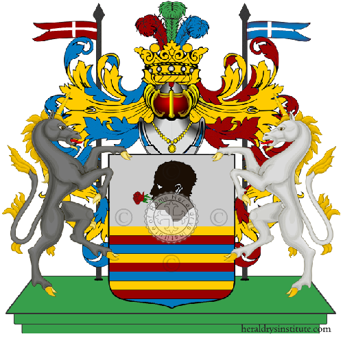 Coat of Arms of family Cappa