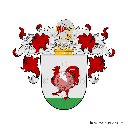 Coat of Arms of family Hankrat