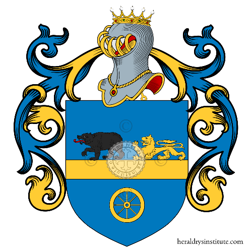 Coat of Arms of family Rotolo