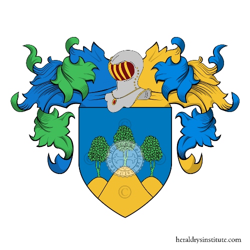 Coat of Arms of family Cimini,  Cimino o Civino