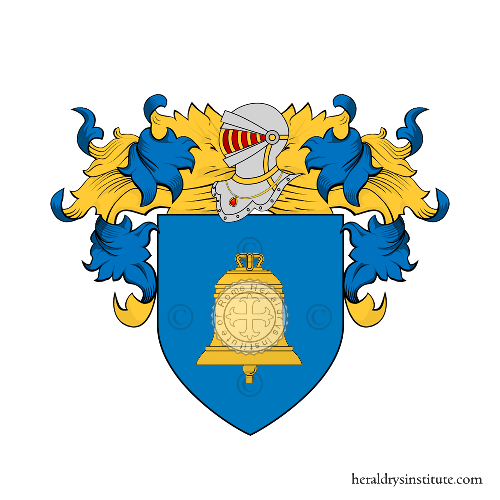 Coat of Arms of family Carolei