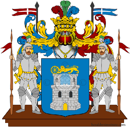 Coat of Arms of family Menetti