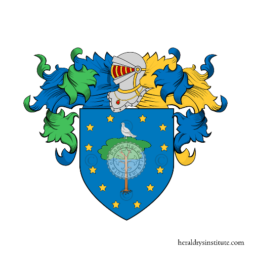 Coat of Arms of family Palumbo (Sicilia)