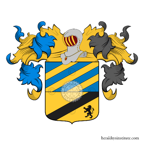 Coat of arms of family Avellino