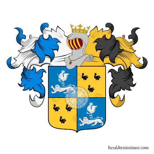 Coat of Arms of family Chantal