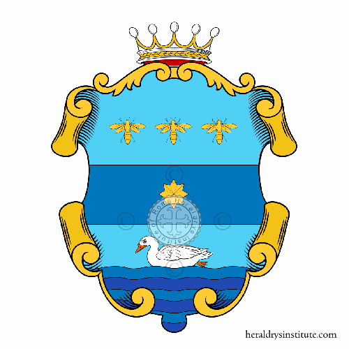 Coat of Arms of family Paperini, Paperino o Paperina