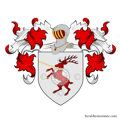 Coat of arms of family Capella