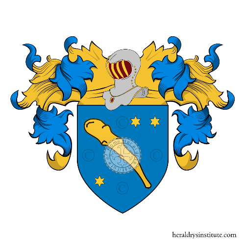 Coat of Arms of family Squarcia