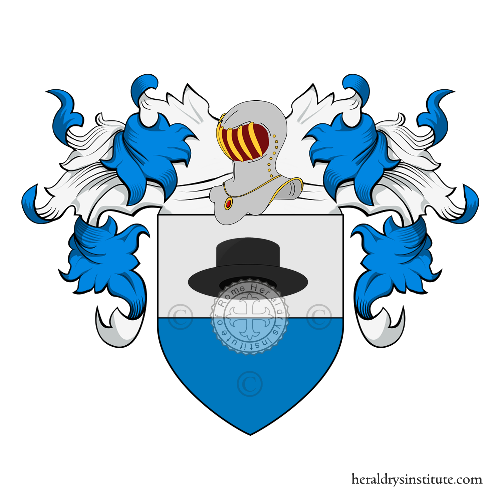 Coat of arms of family Cappellesso