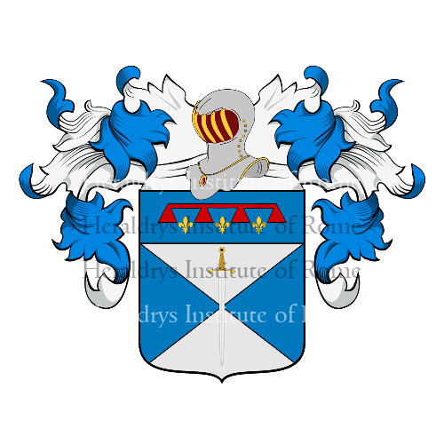 Coat of Arms of family Bello o Dal Bello