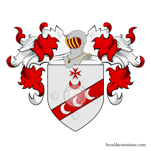 Coat of Arms of family Vivenzio or Vivenzi