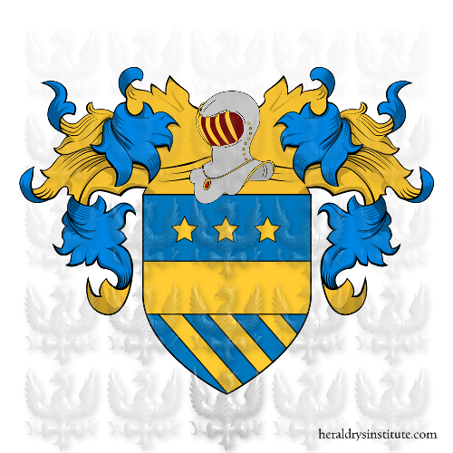 Coat of Arms of family Bello (di) o Bella (di).