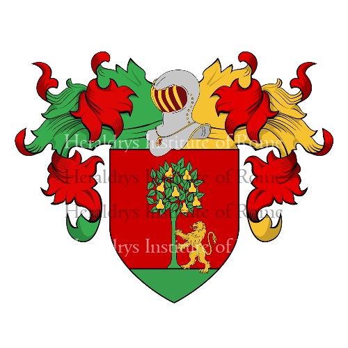 Coat of Arms of family Peragallo