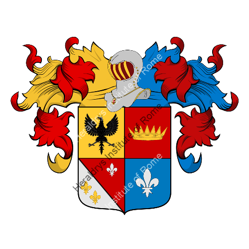 Coat of Arms of family Franzan