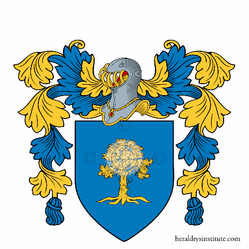 Coat of arms of family Crespi