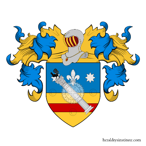 Coat of Arms of family Martinelli