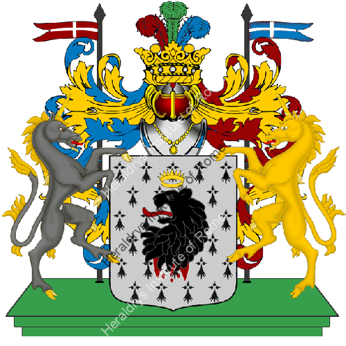 Coat of Arms of family Nensi